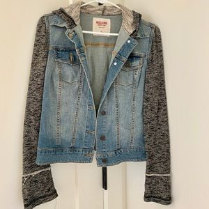 Mission casual denim jacket